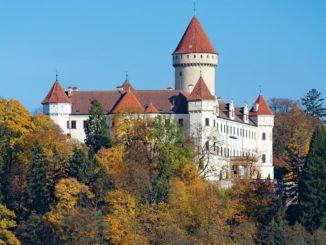 Замок Конопиште Чехия