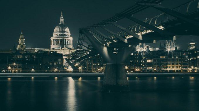 Лондон ночь