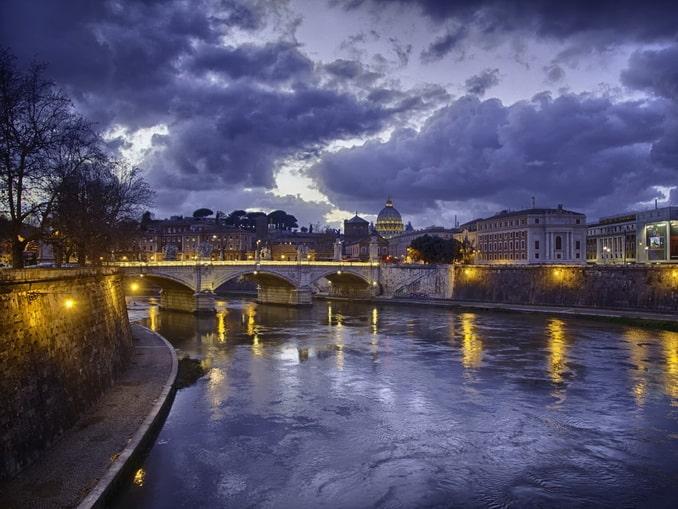 Зимний Рим