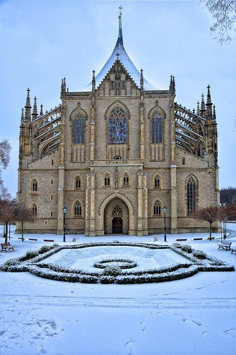 Собор святой Варвары Кутна-Гора