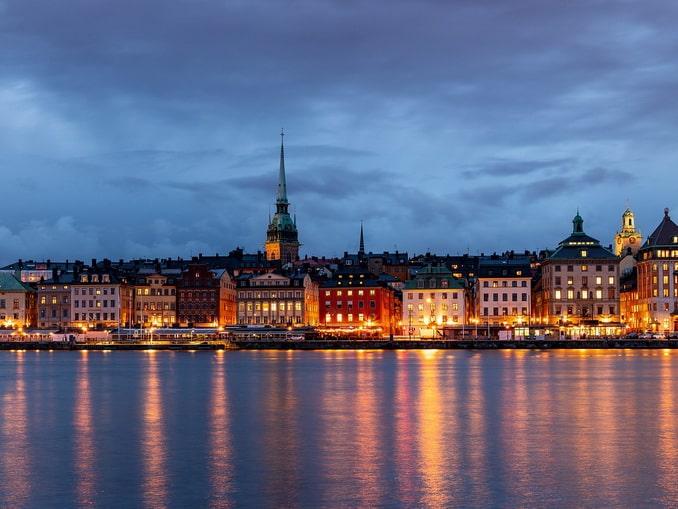 Вечерний Стокгольм