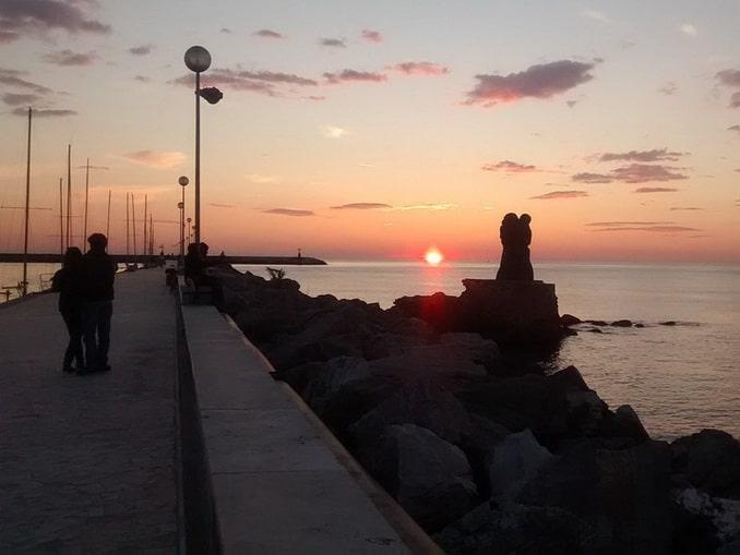 Закат в Виареджо