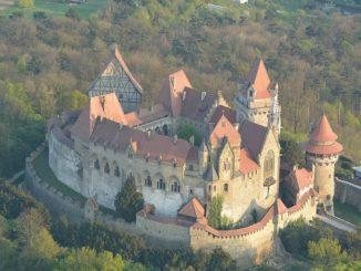 Замок Кройценштайн, Австрия, фото lightlog/Flickr