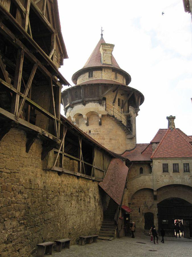 Замок Кройценштайн, фото Tiefkuehlfan/Wikimedia