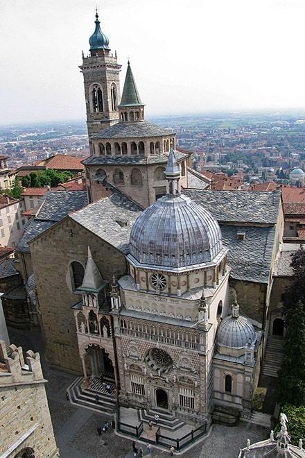 Капелла Коллеони и базилика Санта-Мария, Бергамо