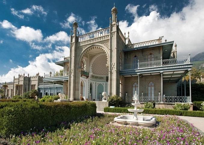 Воронцовский дворец, Алупка, Крым