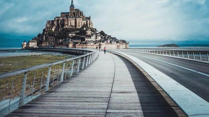 Мон-Сен-Мишель, Франция