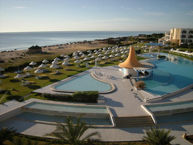 Гостиничный комплекс в Тунисе