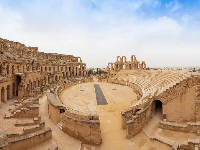 Амфитеатр Эль-Джем в Тунисе