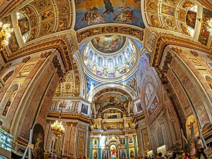 Исаакиевский собор внутри. Исаакиевский собор. Фото Санкт ... | 509x678