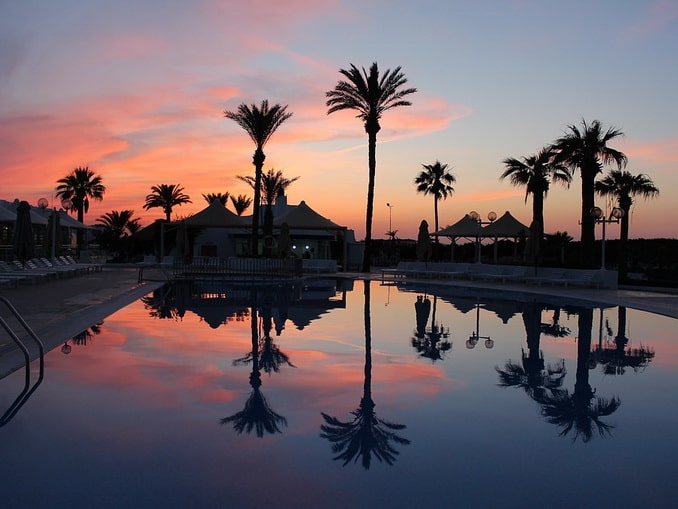 Тунис, отель