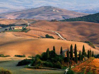 Холмы - главное, что нужно посмотреть в Тоскане