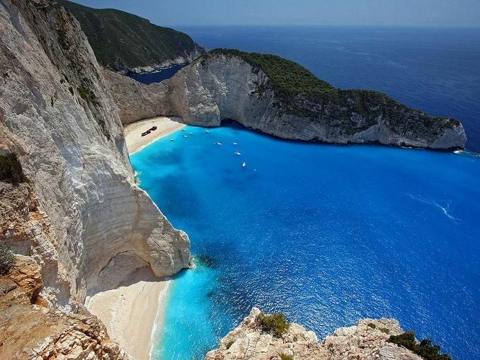 Греция, остров Закинтос