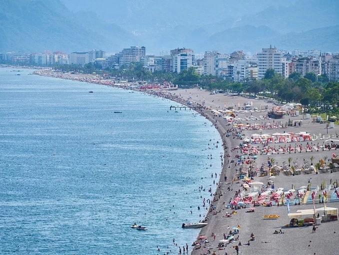 Анталия, пляж