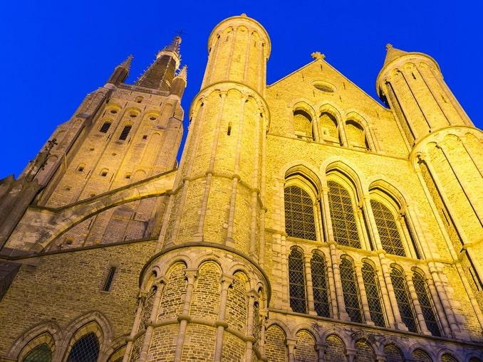 Брюгге, церковь Богородицы