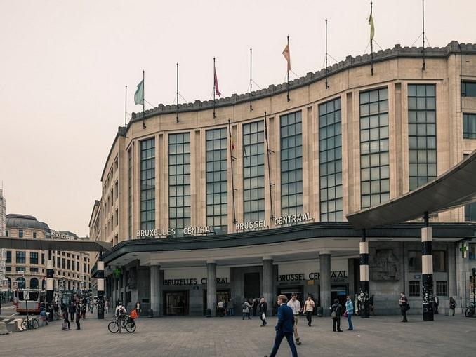 Брюссель, вокзал Brussel-Centraal