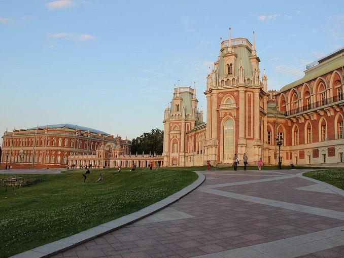 Дворец в Царицыно, Москва