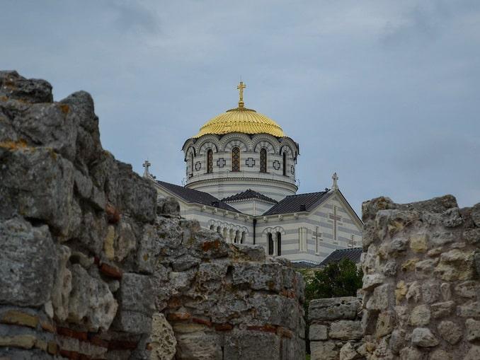 Херсонес и Владимирский собор, Севастополь, Крым