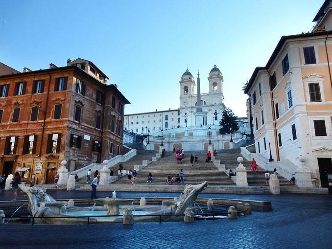 Испанские ступени, Рим