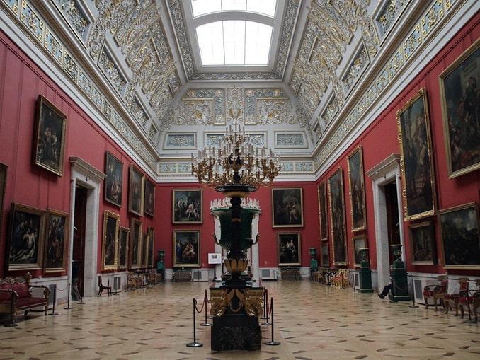 Государственный Эрмитаж - музей в Санкт-Петербурге