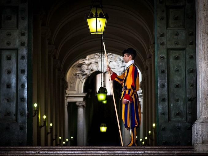 Ватикан, гвардеец