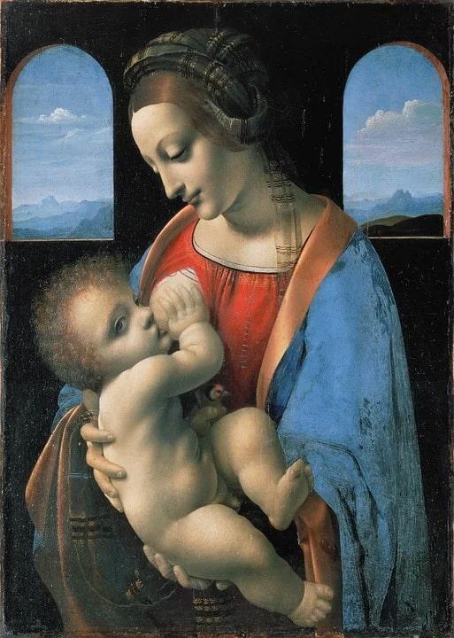 Мадонна Литта, Леонардо да Винчи