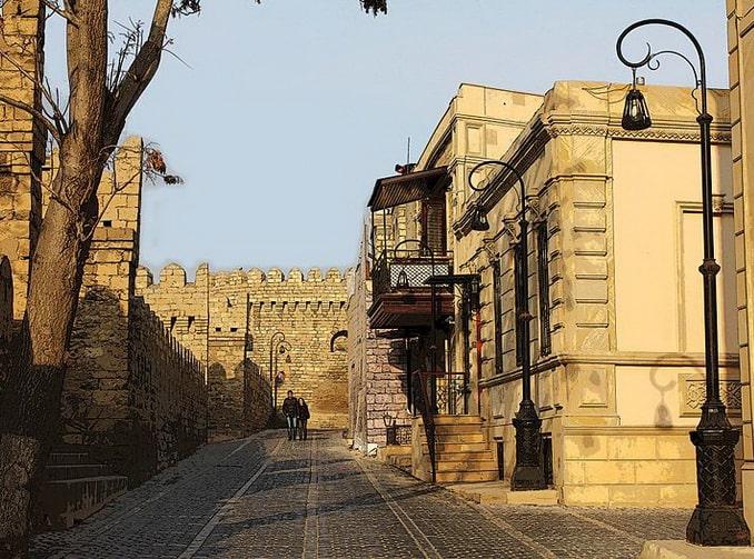 Ичери-шехер, старый Баку