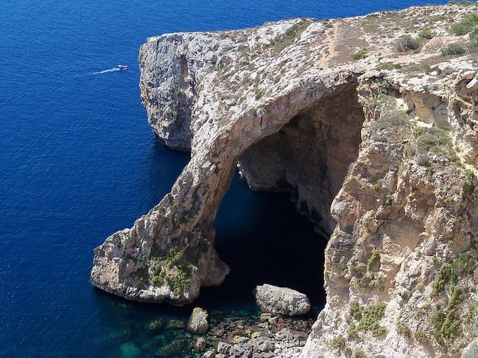 Голубой грот, остров Мальта