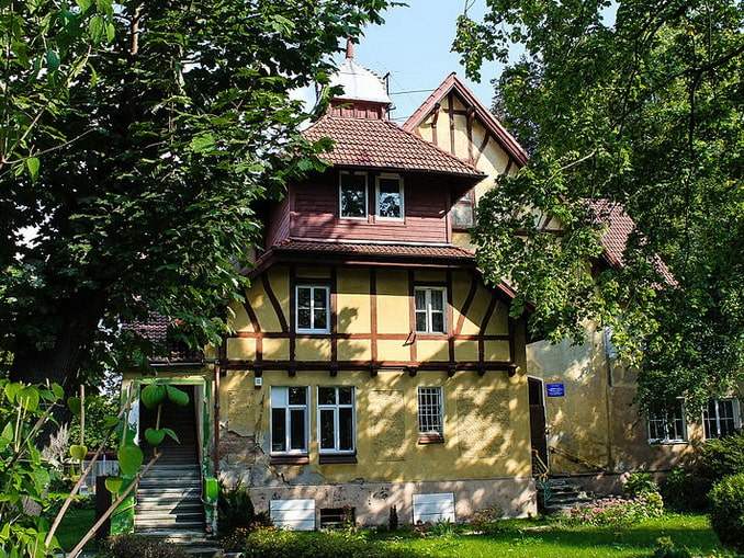 Дом на Каштановой аллее в Калининграде, фото Valeriya Munteanu