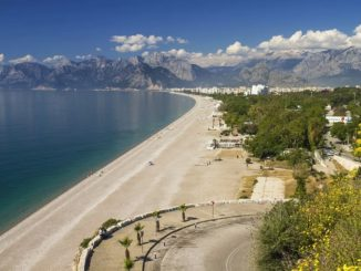 Турция, пляж Анталии