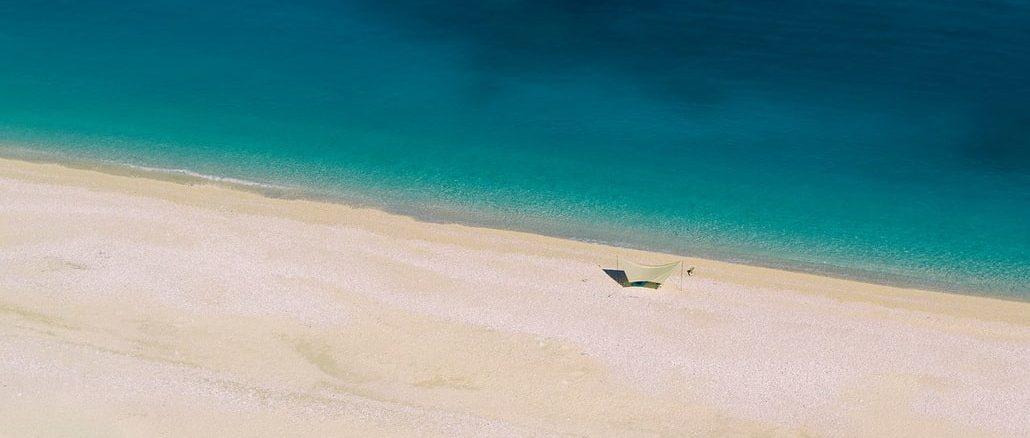 Море и песок, Кефалония, Греция