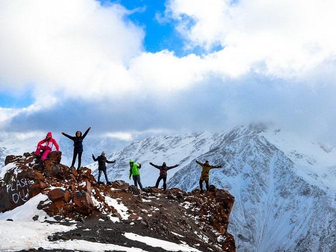 Гора Эльбрус - сюда стоит подняться!