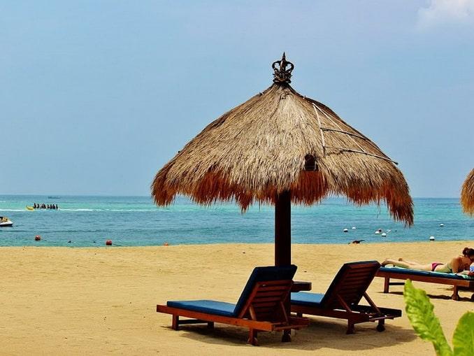 Нуса Дуа, Бали, пляж