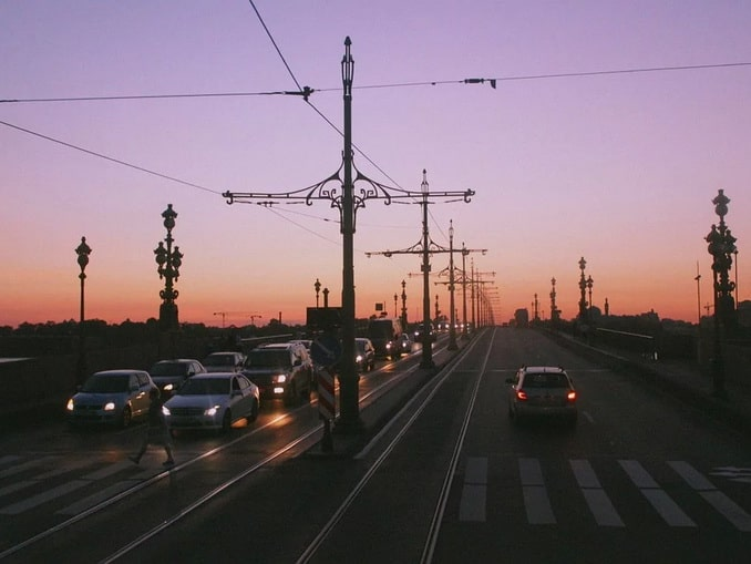 Троицкий мост в СПб, белые ночи