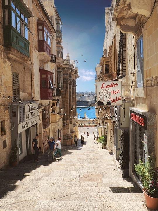 Ла-Валетта, Мальта, улочка