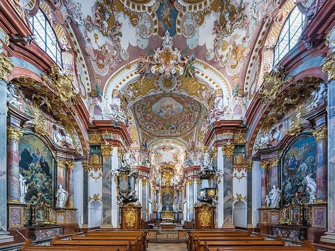 Церковь аббатства Вильхеринг, Австрия, фото Uoaei1