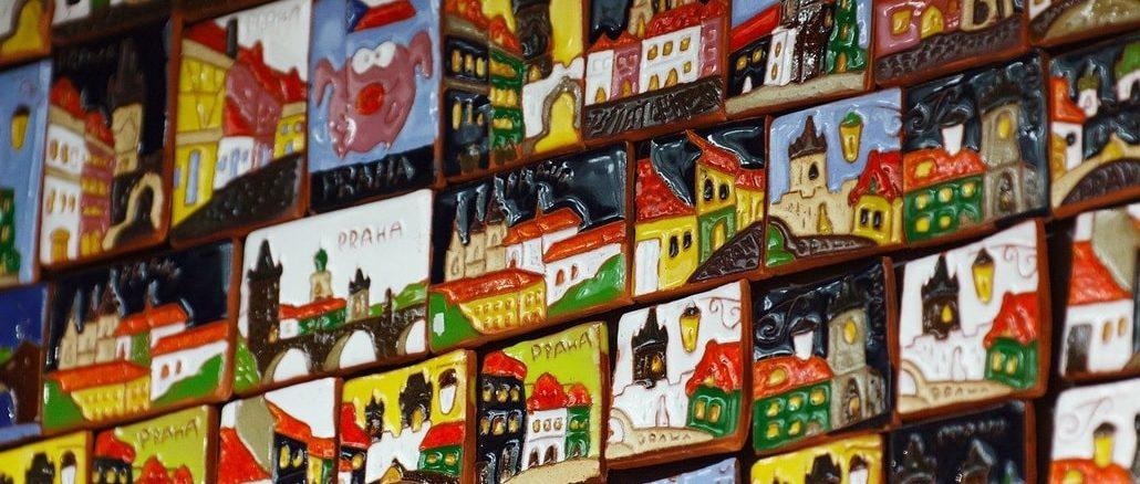 Прага, сувениры