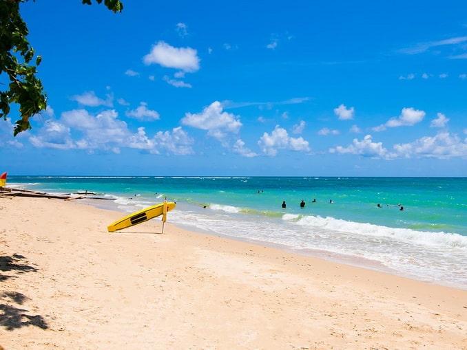 Остров Пхукет в Таиланде, пляж