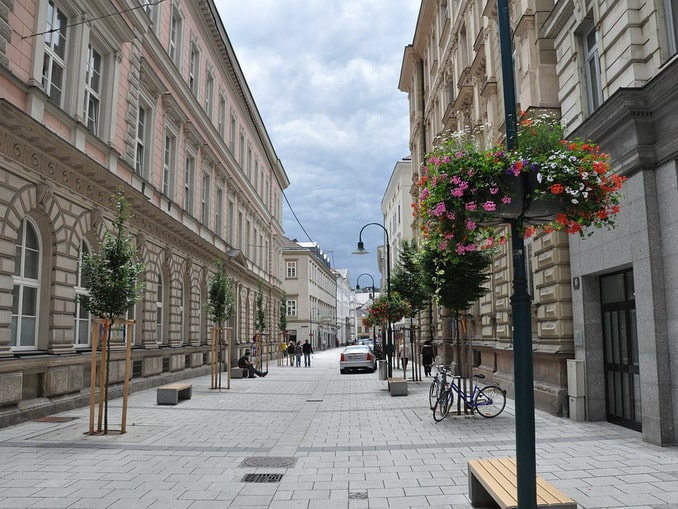 Линц, улица