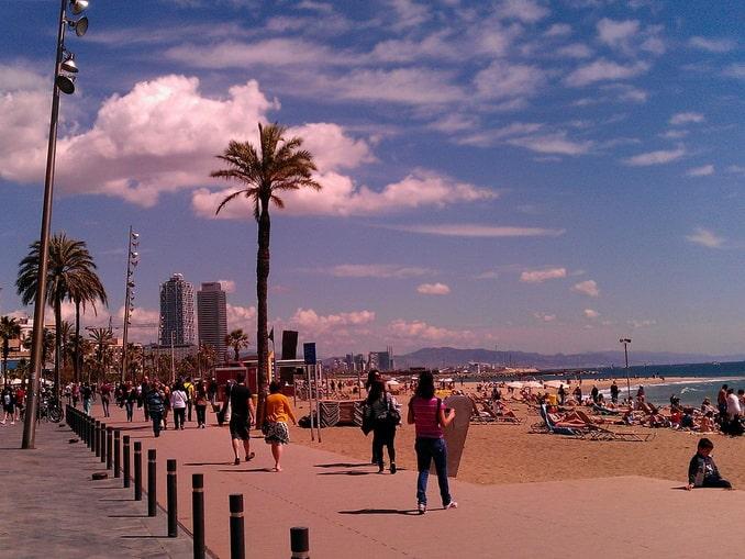 Пляж Барселонетта, Барселона