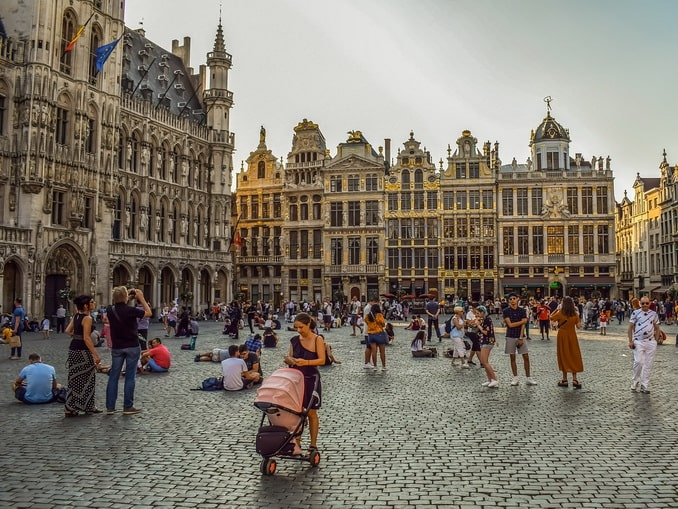 Брюссель, Бельгия, Гран-Плас