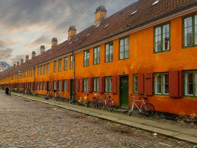 Велосипеды в Дании позволяют съездить много куда