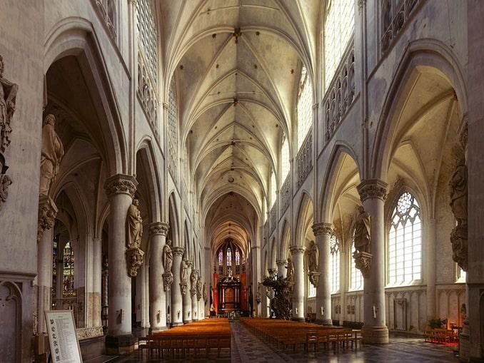 Собор в Мехелене, Бельгия