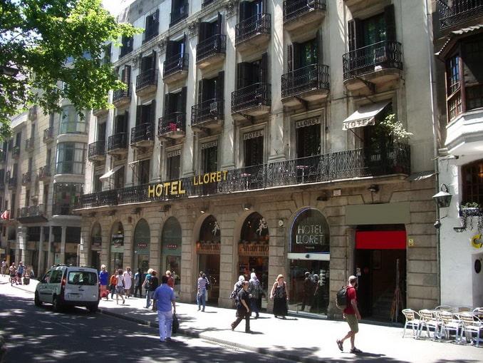 Hotel Lloret Ramblas в Барселоне