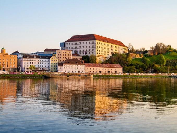 Замок в Линце, Австрия
