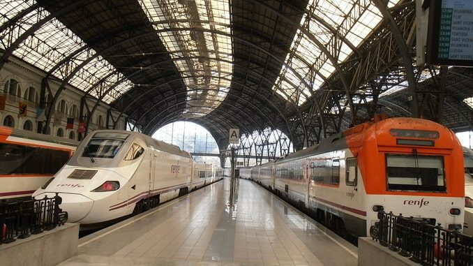 Вокзал, Барселона