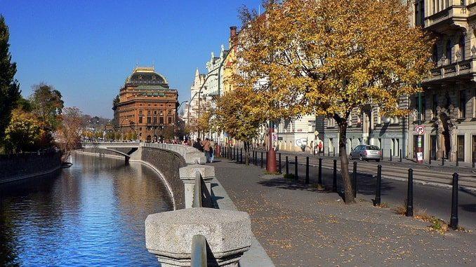 Прага, октябрь