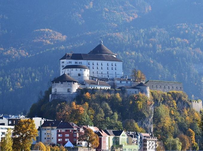 Крепость Куфштайна, Тироль, Австрия