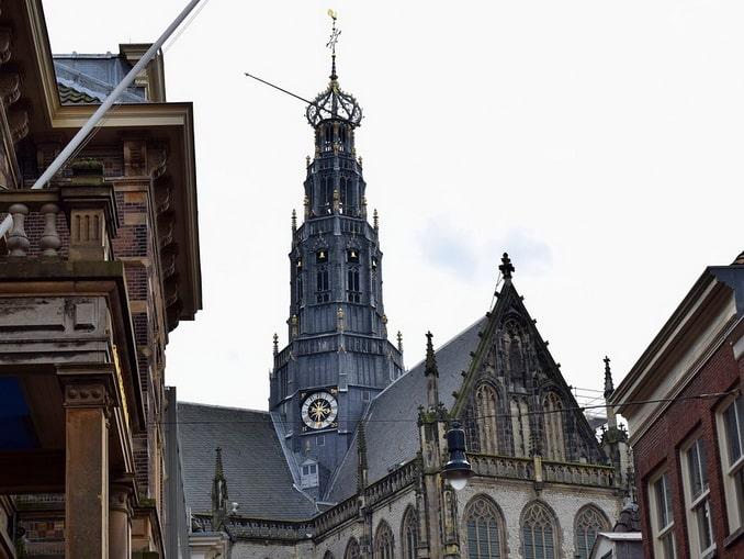 Церковь святого Бавона в Харлеме, Нидерланды