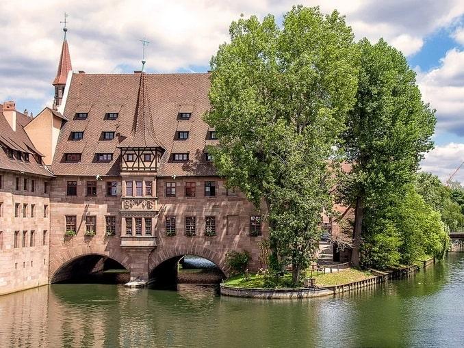 Бывший госпиталь святого духа в Нюрнберге, Германия